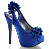 TEEZE-56 Navy Blue Satin
